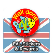 English (EAL) Stickers & Rewards
