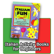 Italian Activity Books for Beginners