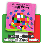 Italian - English Bilingual Books for Children
