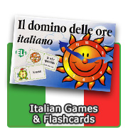 Italian Games & Flashcards for Children