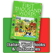 Italian Word Books & Dictionaries for Children