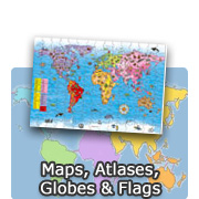 Maps, Atlases, Globes & Flags