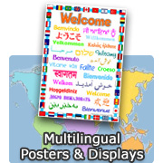 Multilingual Posters and Displays