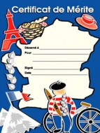 French Merit Certificates (Pack of 20) - Portrait
