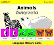 Language Memory Cards � Animals (Polish - English)
