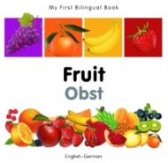 My First Bilingual Book - Fruit (German - English)
