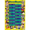 Multilingual Goodbye Poster