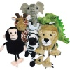 Finger Puppets Set - Jungle / African Animals