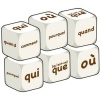French Word Dice - Question Words (Set of 6)