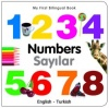 My First Bilingual Book - Numbers (Turkish - English)