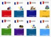 French Card Games - Set of 8 Packs