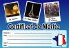 French Merit Certificates (Pack of 20) - Photographic
