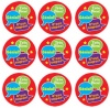 French Reward Stickers - Speech Bubbles (Pack of 125)
