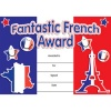 French Merit Certificates (Pack of 20) - Fantastic French Award