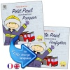 Petit Paul veut devenir un Pompier /  Little Paul Wants to be a Firefighter (French - English)