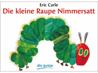 The Very Hungry Caterpillar in German