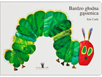 The Very Hungry Caterpillar in Polish