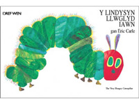 The Very Hungry Caterpillar in Welsh