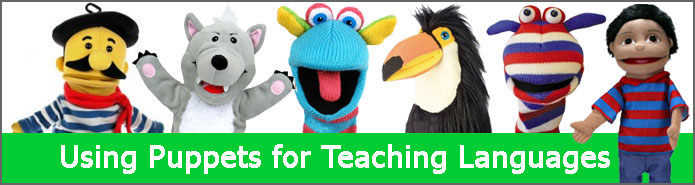 Using Puppets for Language Learning