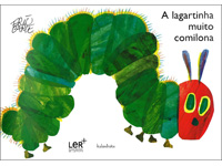 The Very Hungry Caterpillar in Portuguese