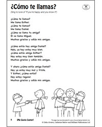 Me Gusta Cantar! Brilliant Publications 9781783173068