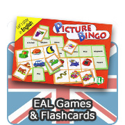 English (EAL) Games & Flashcards