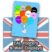 English (EAL) Posters & Displays