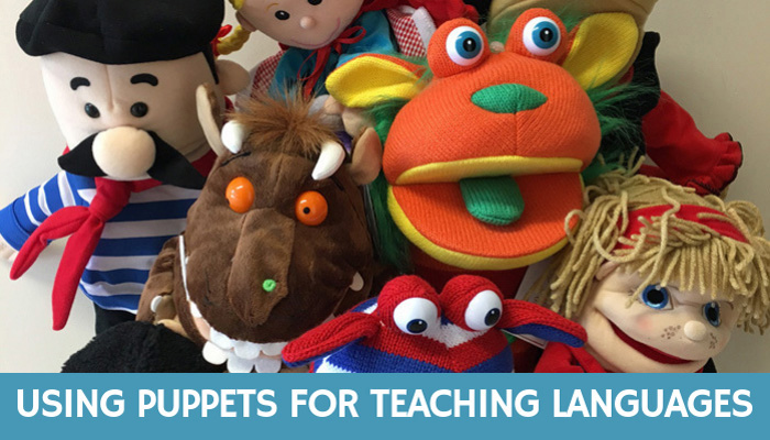 Using Puppets for Teaching Languages