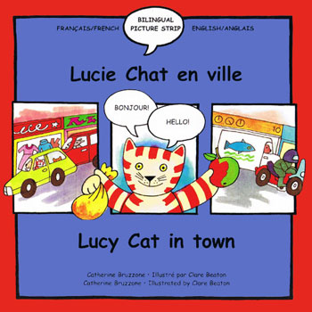 Lucy Cat in Town / Lucie Chat en Ville