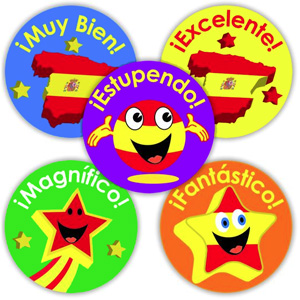 Spanish Reward Stickers (Mixed Pack of 125)