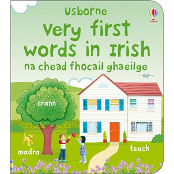 Usborne Very First Words in Irish