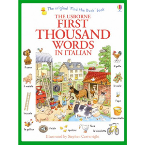 Usborne First Thousand Words in Italian