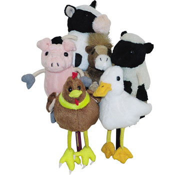 Finger Puppets Set - Farmyard Animals