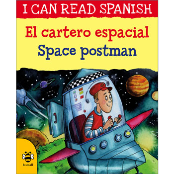 I can read Spanish - El cartero espacial / Space postman