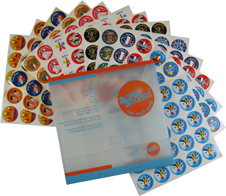 French Reward Stickers (Bumper Pack of 375)