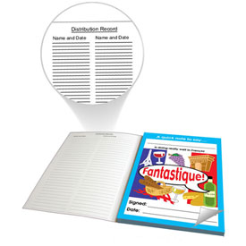 French Reward Notepad - Fantastique! (60 sheets)
