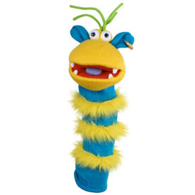 Sockette Glove Puppet - Ringo (Yellow / Blue)