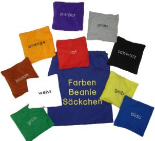 German Bean Bags - Colours
