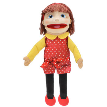Puppet Buddy - Medium Girl (Light Skin)