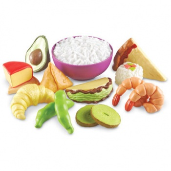 Multicultural Play Food Set