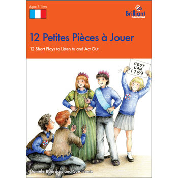 12 Petites Pièces à Jouer - 12 Short Plays to Listen to and Act Out