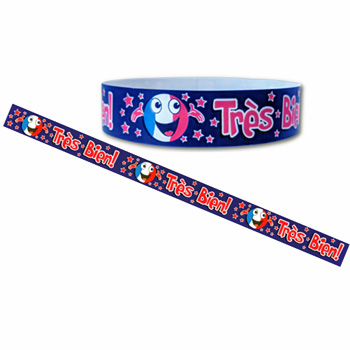 French Wristbands - Très Bien (Pack of 30)