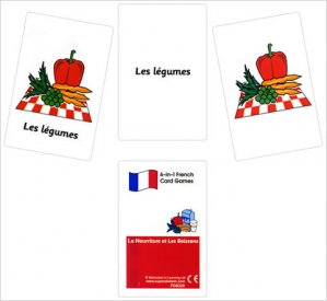 French Card Games - La nourriture et les boissons