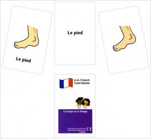 French Card Games - Le corps et le visage