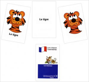 French Card Games - Les animaux