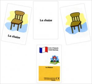 French Card Games - La maison