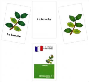 French Card Games - La nature