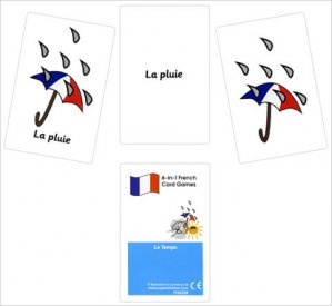 French Card Games - Le temps