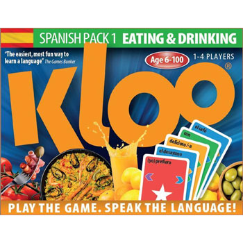 KLOO® Spanish Games: Pack 1 (Eating and Drinking)