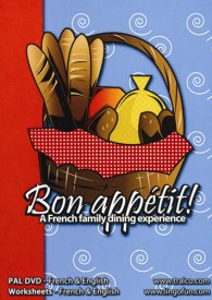 Bon appétit / Enjoy your meal ! (DVD & CD-Rom Resource)